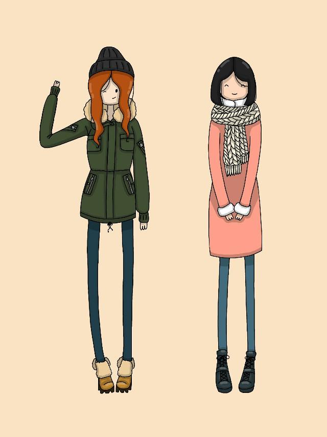 Winter fashion🎄 Hipster and romantic💟   #warm  #winter  #girls  #fashion