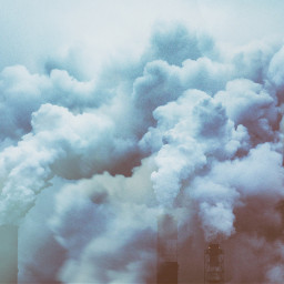 plant industrial urban steam tube freetoedit