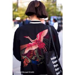stylebloggers isseymiyake models pfw17 red