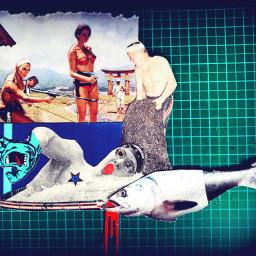 collage analogcollage collageart digitalcollage collagework