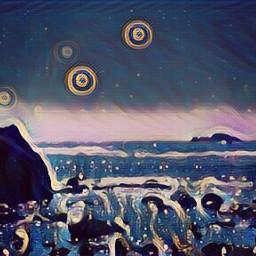 midnightfilter california nature beach