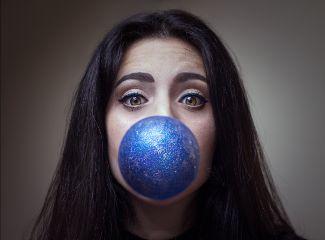 beautiful eyes portrait photography glitter