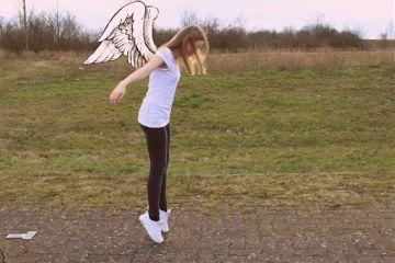 fly wings spring sun blackandwhite freetoedit