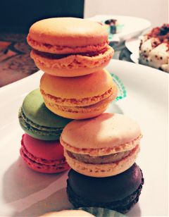 macarons frenchmacarons sweets frenchsweets colorful freetoedit