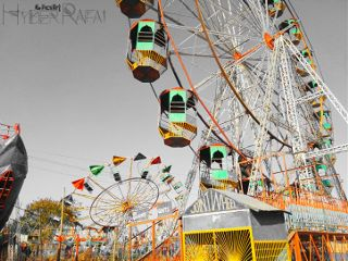 colorsplash ferriswheel amusementpark