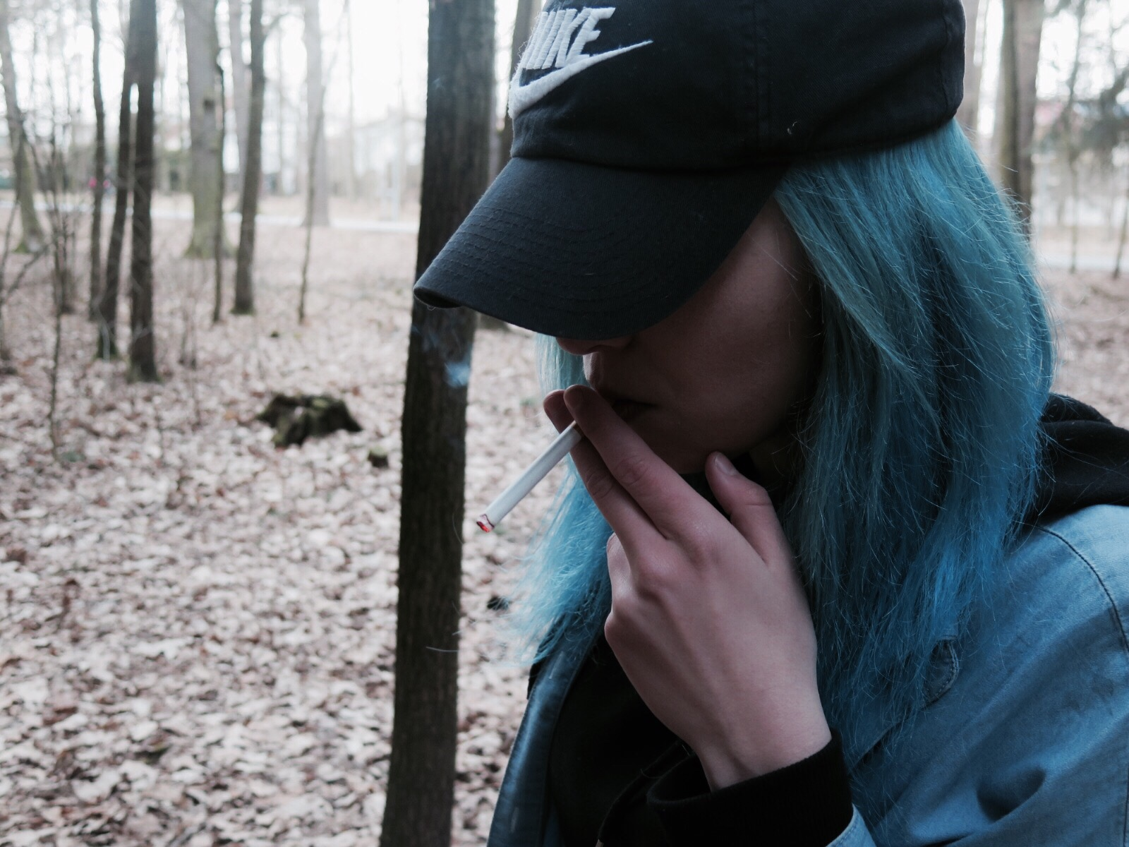 Girls With Blue Hair Tumblr