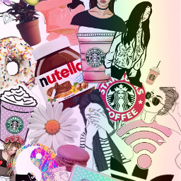 freetoedit tumblr polishgirl love starbucks
