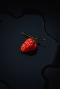 interesting strawberry