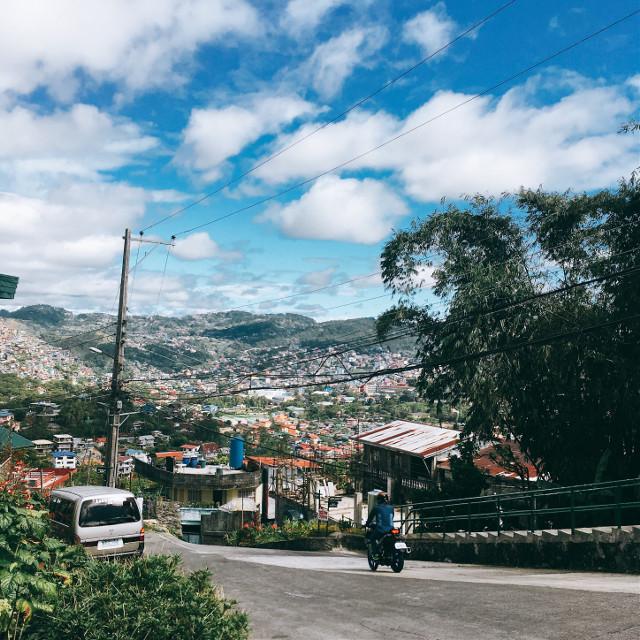 #philippines #baguio #travel #jeepney