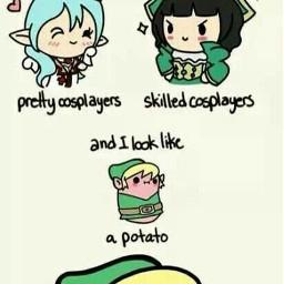 freetoedit cosplay potatoe