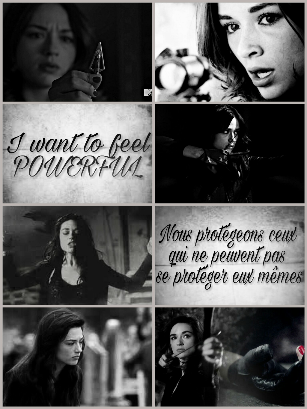 FreeToEdit allisonargent aesthetic teenwolf quotes...