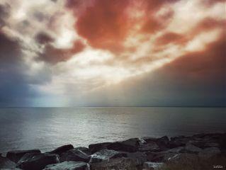 freetoedit sunset myoriginalphoto chesapeakebay